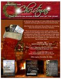 Christmas Book Flier