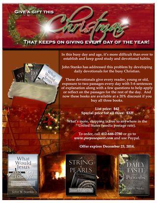 Christmas Book Flier